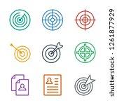opportunity icons. trendy 9...   Shutterstock .eps vector #1261877929