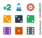 bet icons. trendy 9 bet icons.... | Shutterstock .eps vector #1261880359