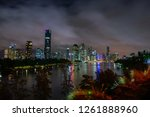 view of brisbane city from... | Shutterstock . vector #1261888960
