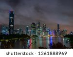 view of brisbane city from... | Shutterstock . vector #1261888969