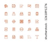 Stock vector editable text icons for web and mobile set of text included icons line text chat newspaper 1261891276