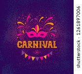 Carnival Party Design. Vector...