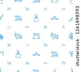 hook icons pattern seamless... | Shutterstock .eps vector #1261898593