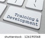 training   development   button ... | Shutterstock . vector #126190568