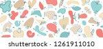 vector abstract creative... | Shutterstock .eps vector #1261911010