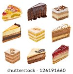 Collection Of  Various Cakes O...