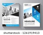 business abstract vector... | Shutterstock .eps vector #1261919413