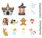 vector design of tale and... | Shutterstock .eps vector #1261943953