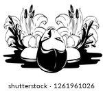 vector hand drawn illustration... | Shutterstock .eps vector #1261961026