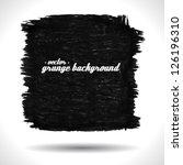 vector grunge background.... | Shutterstock .eps vector #126196310