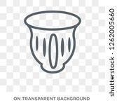 native american pot icon.... | Shutterstock .eps vector #1262005660