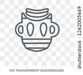 native american mask icon.... | Shutterstock .eps vector #1262005669