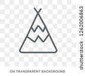 calumet icon. calumet design... | Shutterstock .eps vector #1262006863