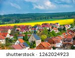 view over the village of ranis... | Shutterstock . vector #1262024923
