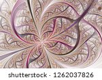 diagonal symmetric multicolor... | Shutterstock . vector #1262037826