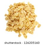 pile of flakes | Shutterstock . vector #126205160