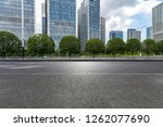 panoramic skyline and modern... | Shutterstock . vector #1262077690