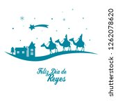 card of the three wise men....   Shutterstock .eps vector #1262078620