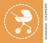 vector illustration with baby... | Shutterstock .eps vector #1262095393