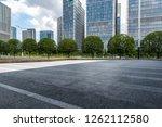 panoramic skyline and modern... | Shutterstock . vector #1262112580