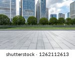 panoramic skyline and modern... | Shutterstock . vector #1262112613