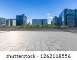 panoramic skyline and modern... | Shutterstock . vector #1262118556
