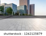 panoramic skyline and modern... | Shutterstock . vector #1262125879