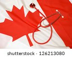 A concept based on the Canadian healthcare system. - stock photo