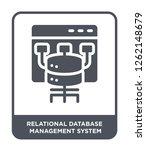 relational database management... | Shutterstock .eps vector #1262148679