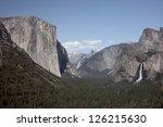 Waterfalls Define The Granite...