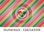 heart with electrocardiogram... | Shutterstock .eps vector #1262165206
