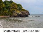 rocky sea shore | Shutterstock . vector #1262166400
