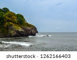 rocky sea shore | Shutterstock . vector #1262166403
