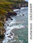 rocky sea shore | Shutterstock . vector #1262166409
