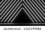 neon glowing lights futuristic... | Shutterstock . vector #1262199886