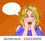 vector illustration with pop... | Shutterstock .eps vector #1262216056