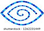 greek evil eye vector mosaic...   Shutterstock .eps vector #1262231449