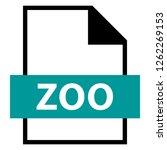 filename extension icon zoo lzw ... | Shutterstock .eps vector #1262269153
