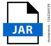 filename extension icon jar...   Shutterstock .eps vector #1262269159