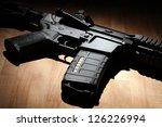 weapon series. custom build ar... | Shutterstock . vector #126226994