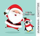 holiday christmas greeting card ...   Shutterstock .eps vector #1262277283