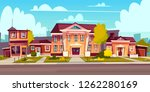 vector rental of a house ... | Shutterstock .eps vector #1262280169