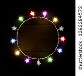 christmas banner multicolored ... | Shutterstock .eps vector #1262284573