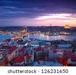 istanbul sunset panorama | Shutterstock . vector #126231650