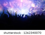 new year concept   fireworks... | Shutterstock . vector #1262340070