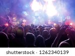 new year concept   fireworks... | Shutterstock . vector #1262340139