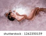 the night and day goddess...   Shutterstock . vector #1262350159