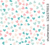 seamless pattern with colorful... | Shutterstock .eps vector #1262370013