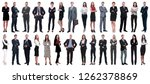 group of successful business... | Shutterstock . vector #1262378869
