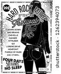 hard rock festival poster.... | Shutterstock .eps vector #1262394073